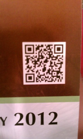 Up close real estate QR Code